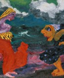 Emile Nolde. <em>Encounter on the Beach</em>, 1920 (c) Nolde Foundation Seebüll