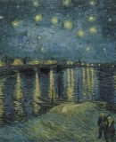 Vincent van Gogh: <em>Starry Night over Rohne</em>, 1888. Musèe d'Orsay