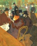 Henri de Toulouse-Lautrec (1864-1901). <em>Au Moulin Rouge</em>, 1892-1895. Huile sur toile © The Art Institute of Chicago