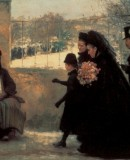 Émile Friant. <em>All Saints&acute; Day</em>, 1888 © Musée des Beaux-Arts de Nancy