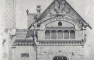 Elevation for the project of Villino Vincenzo Florio, 1902-1905